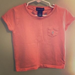 Girls V-neck T-shirt